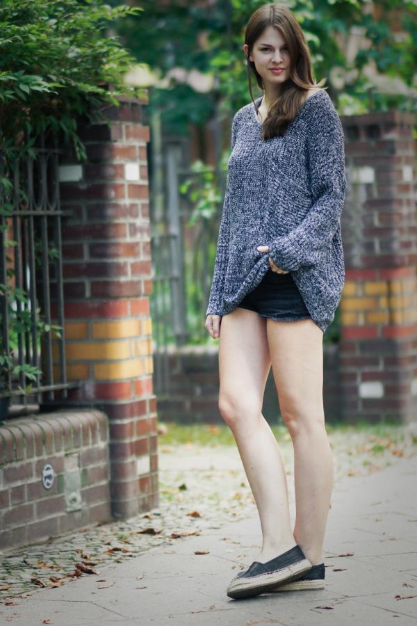 Übergroßer Pullover
