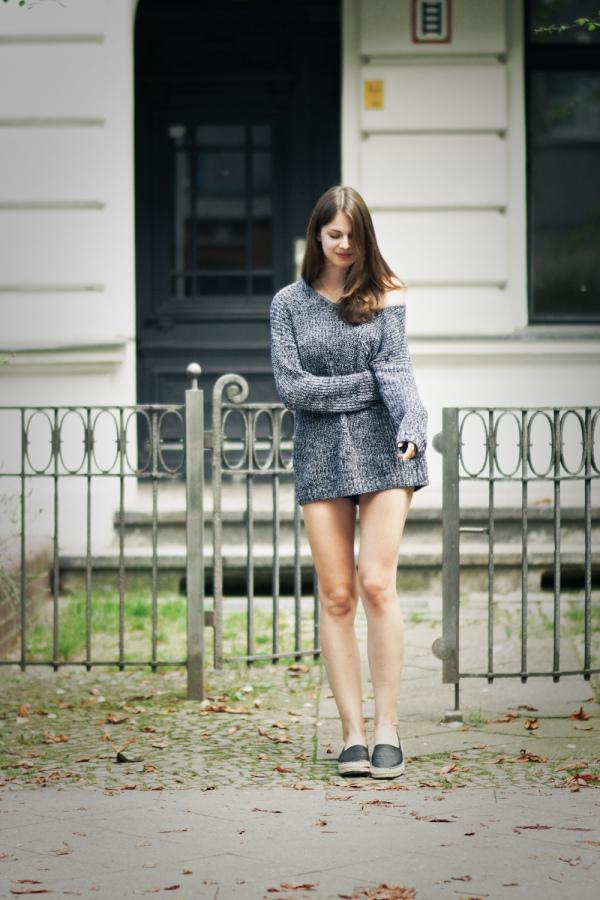 mein Pullover verdeckt die shorts