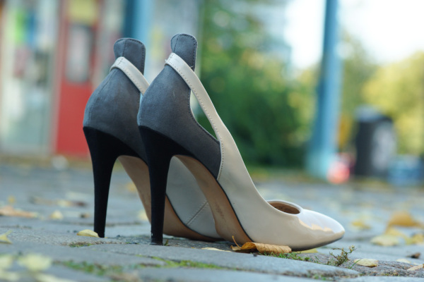 bicolour High Heels
