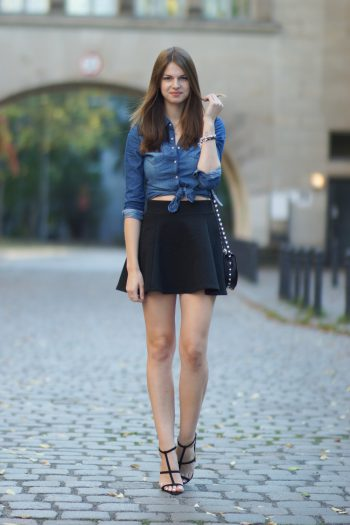 4 Days 4 Ways: How to wear a Denim Shirt #4