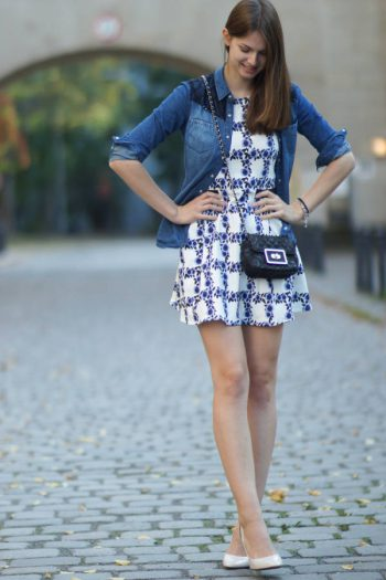 4 Days 4 Ways: How to wear a Denim Shirt #2