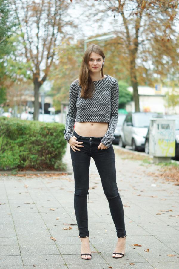 Was Herbst? Ich trag einen bauchfreien Pullover