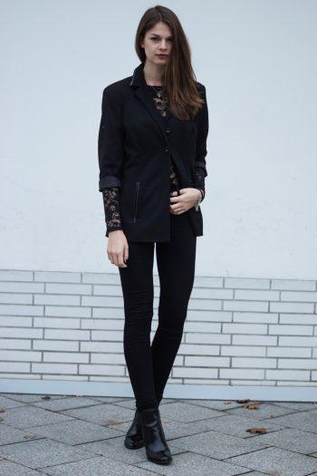 Festive Outfit: Lace Details
