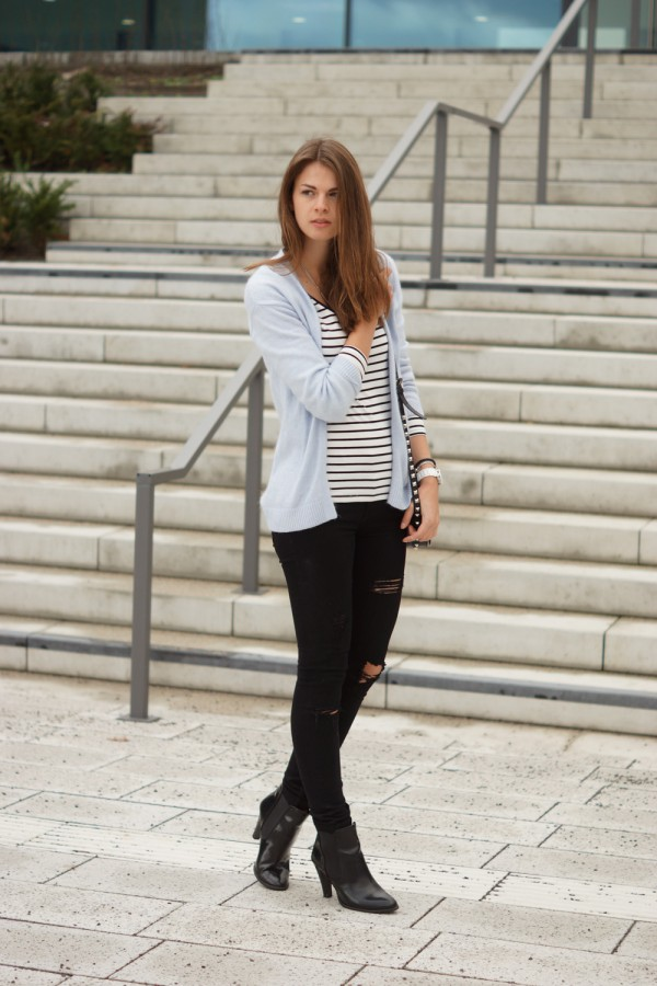 einfaches winter outfit