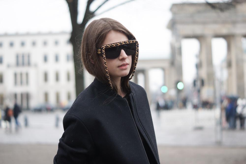 Vintage Chanel Sonnenbrille