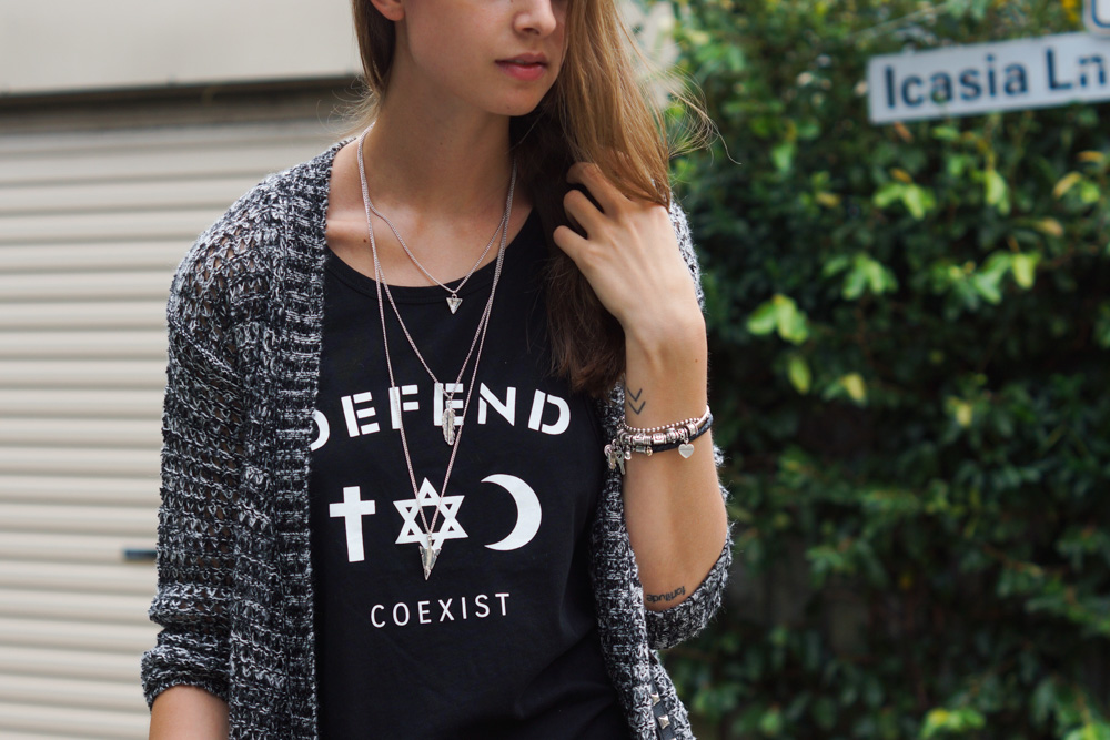 Coexist Tank Top