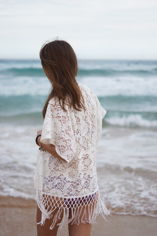 Kimono aus Spitze