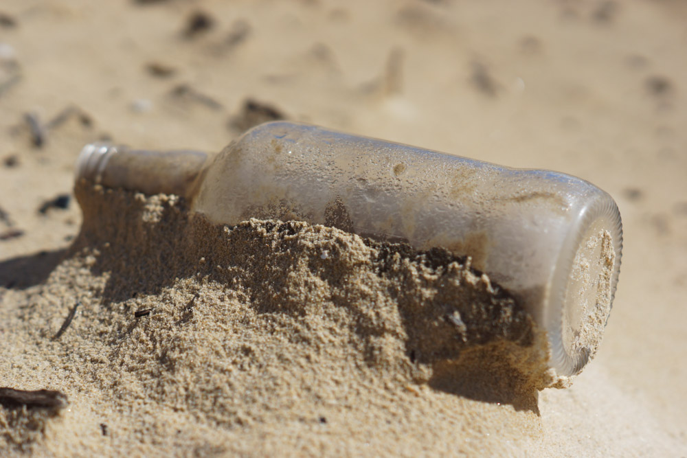 Glass in Sand