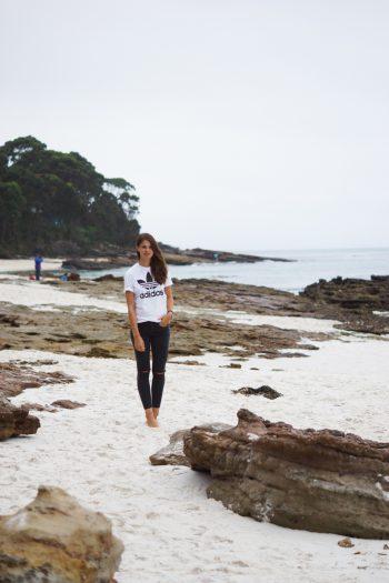 Der weißeste Strand der Welt