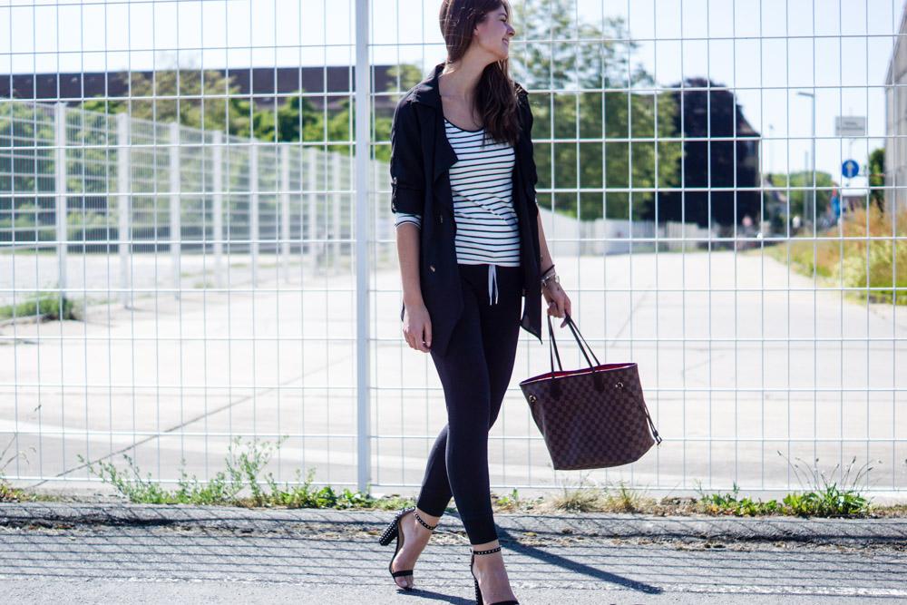 Zara High Heels mit Nieten