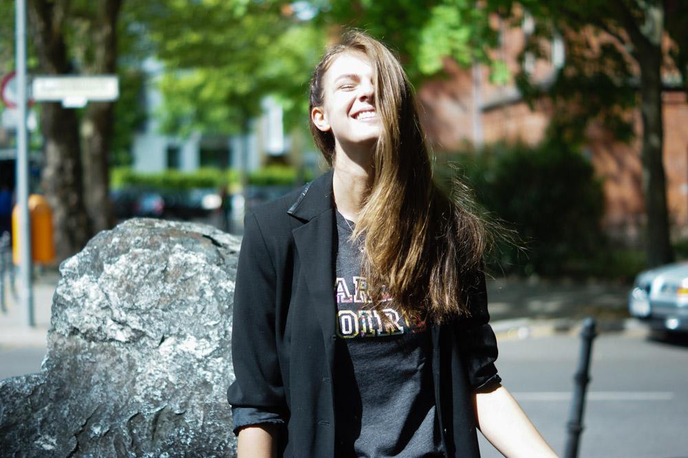 Barre Noire T-Shirt