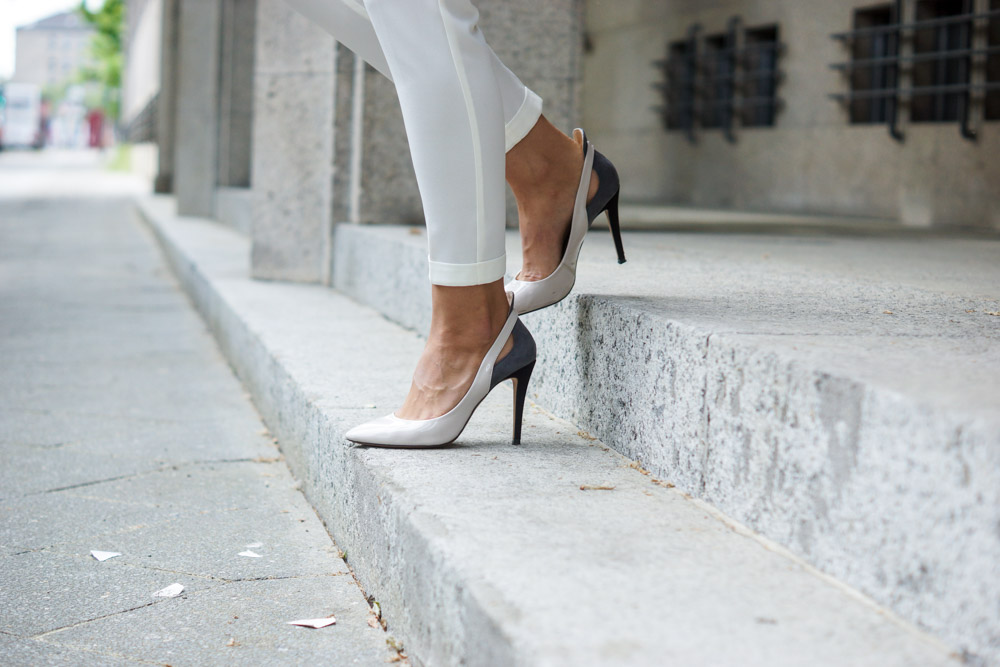 Bicolor High Heels from Zara