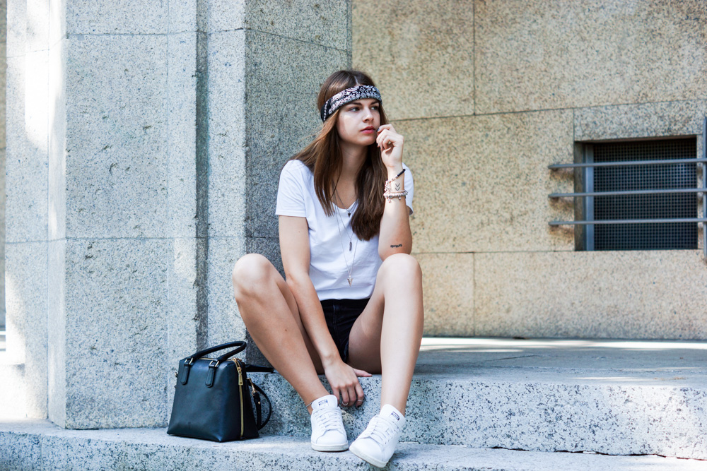 stan smith summer outfit