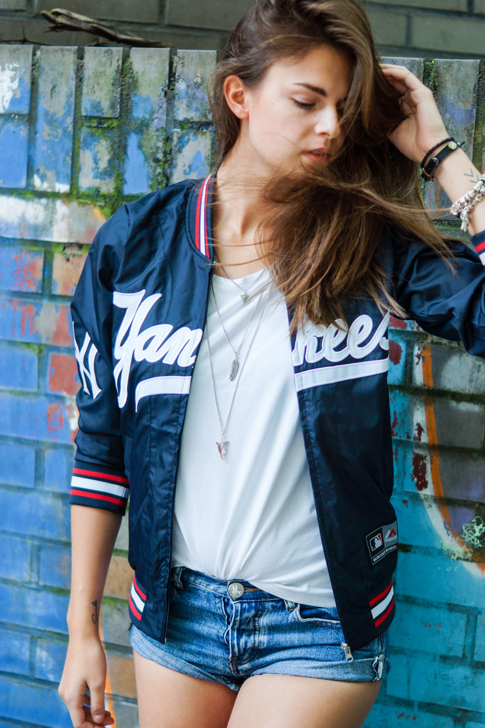 Majestic Athletic Baseball Jacke