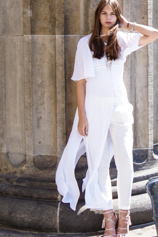 Lange Bluse von Zara