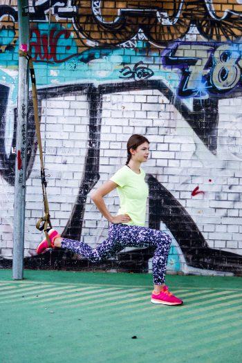TRX Lower Body Übungen für starke, schlanke Beine und einen straffen Hintern