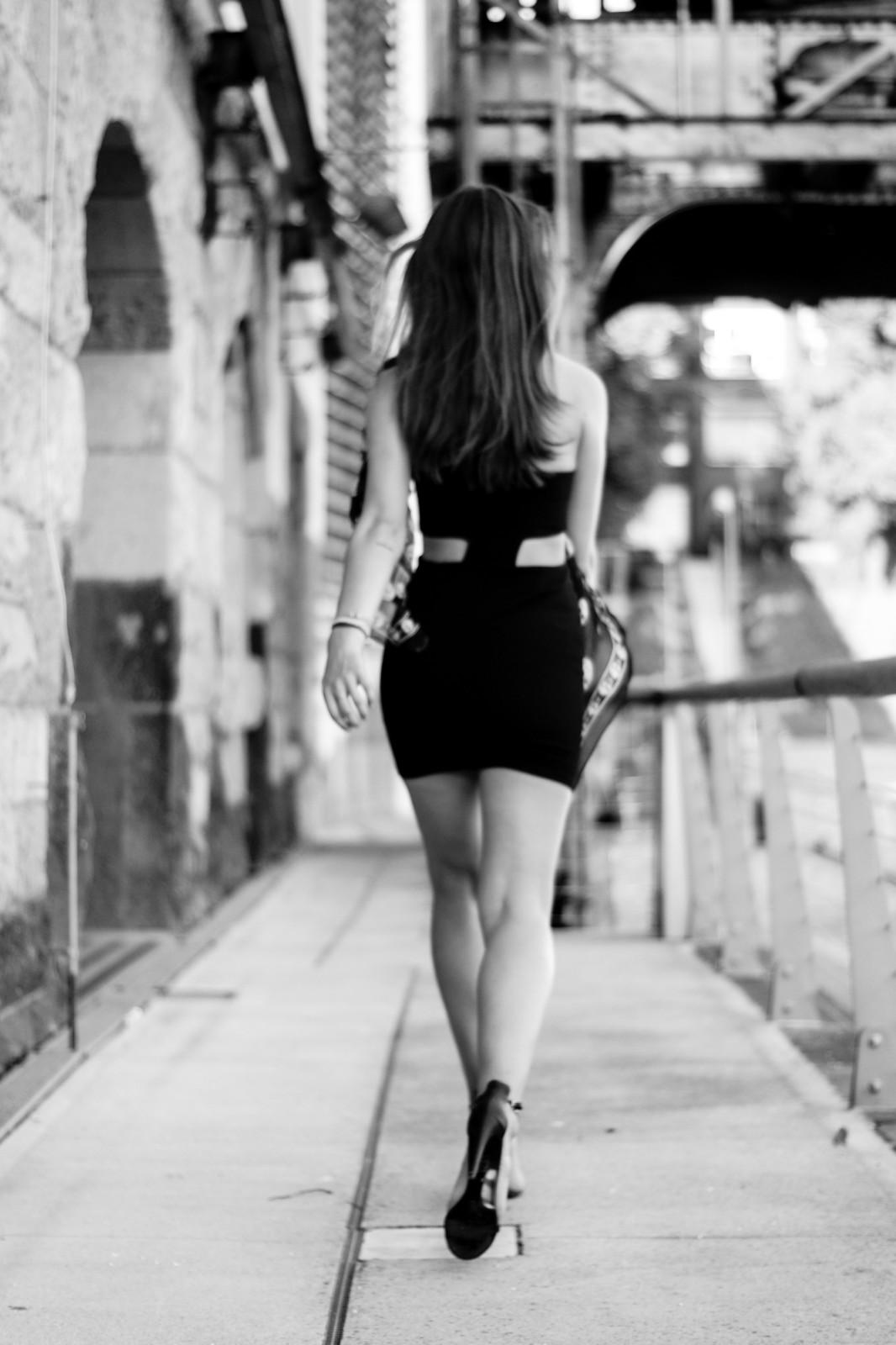 Schwarz-Weiß Fashion Fotografie