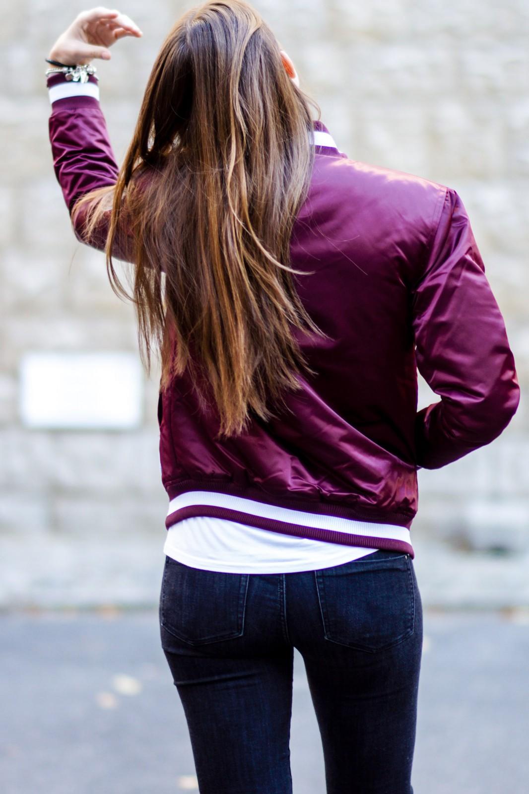 sportliche Jacke von Majestic Athletic