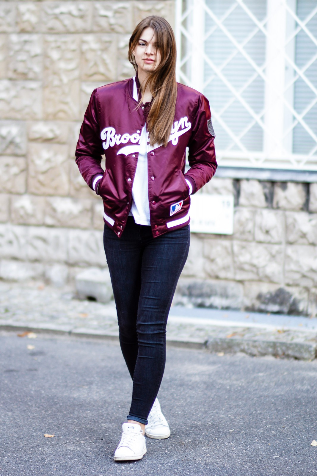 Brooklyn Bomberjacke