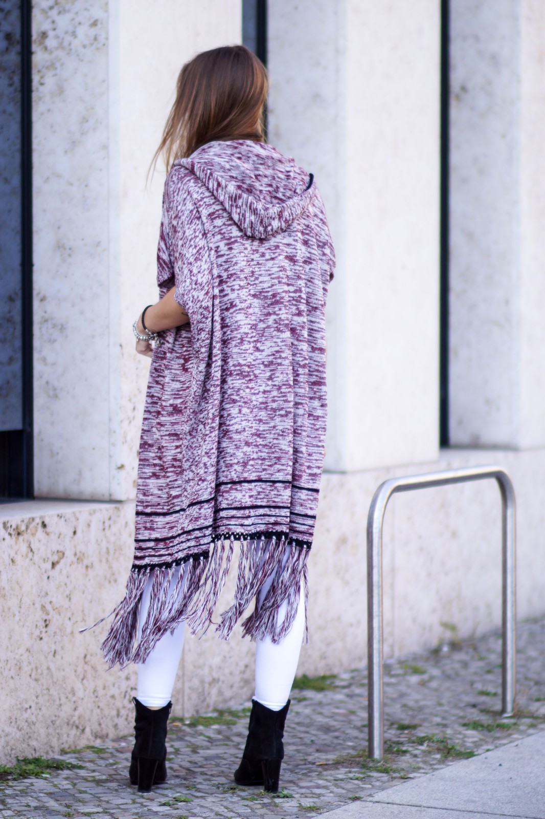 Knitted Long Vest