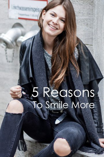 5 Reasons to Smile more