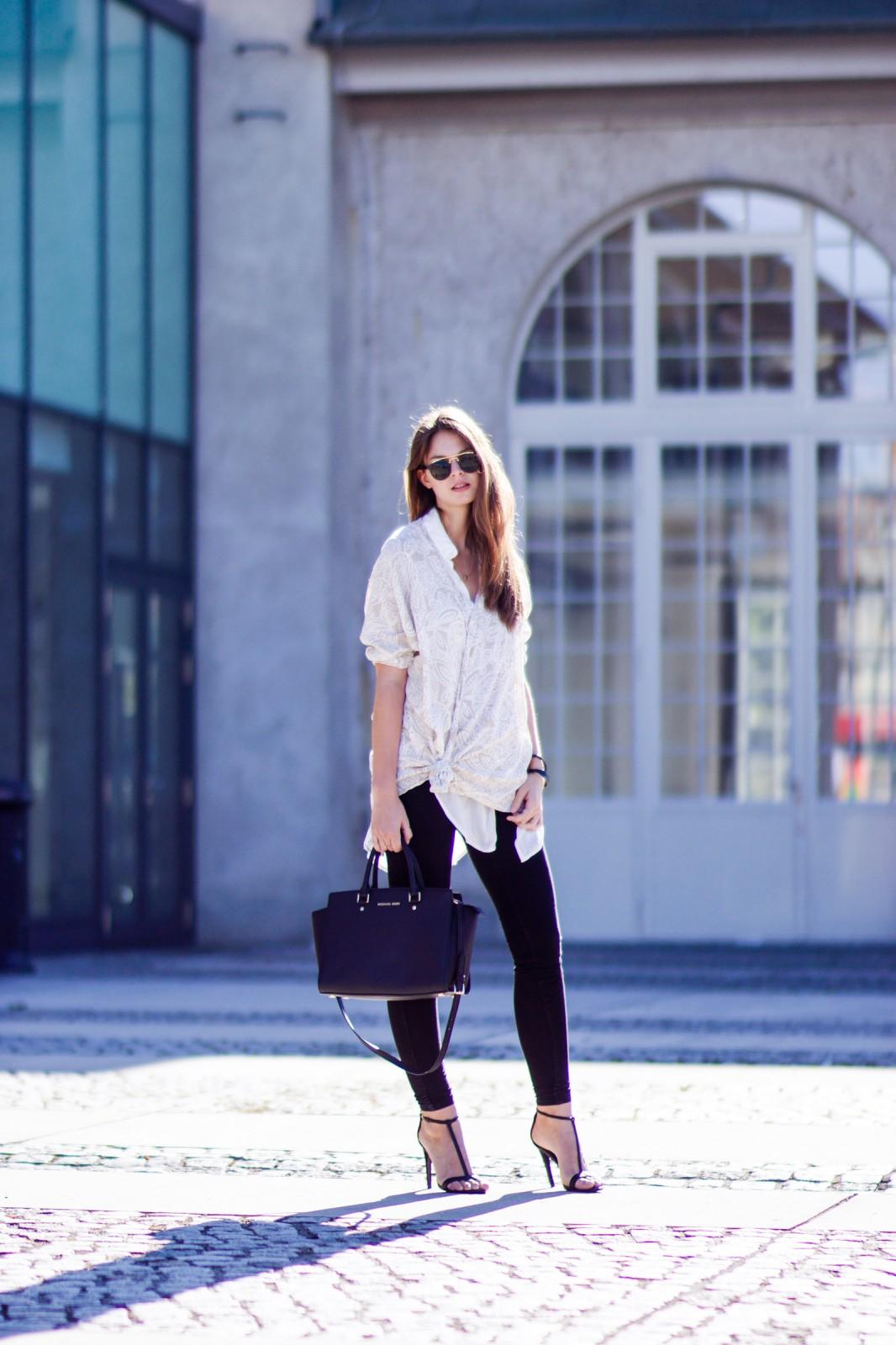 Schwarze Gina Tricot Jeans