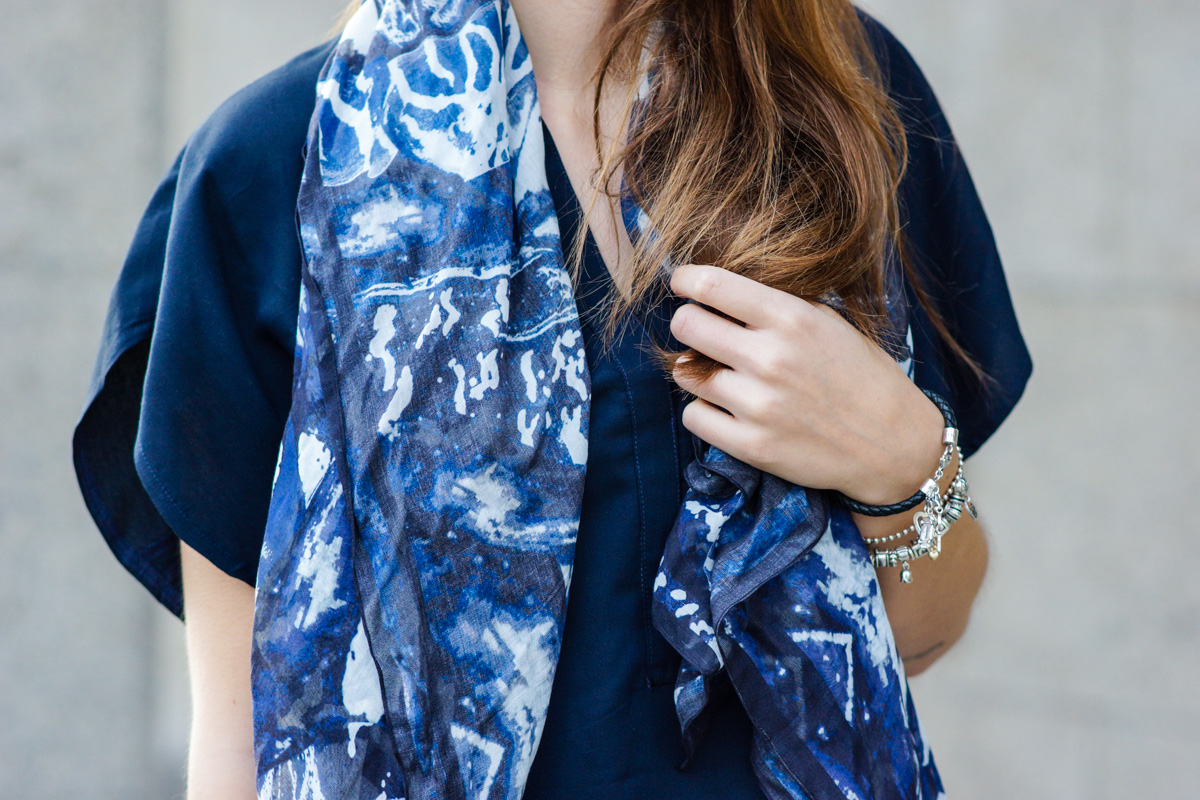 Patterned Scarf by Alexander McQueen