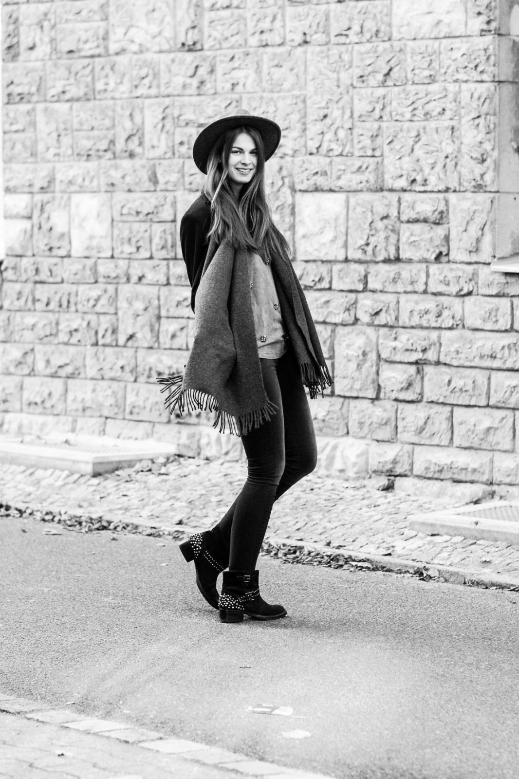 Schwarz-Weiß Fashion Photography
