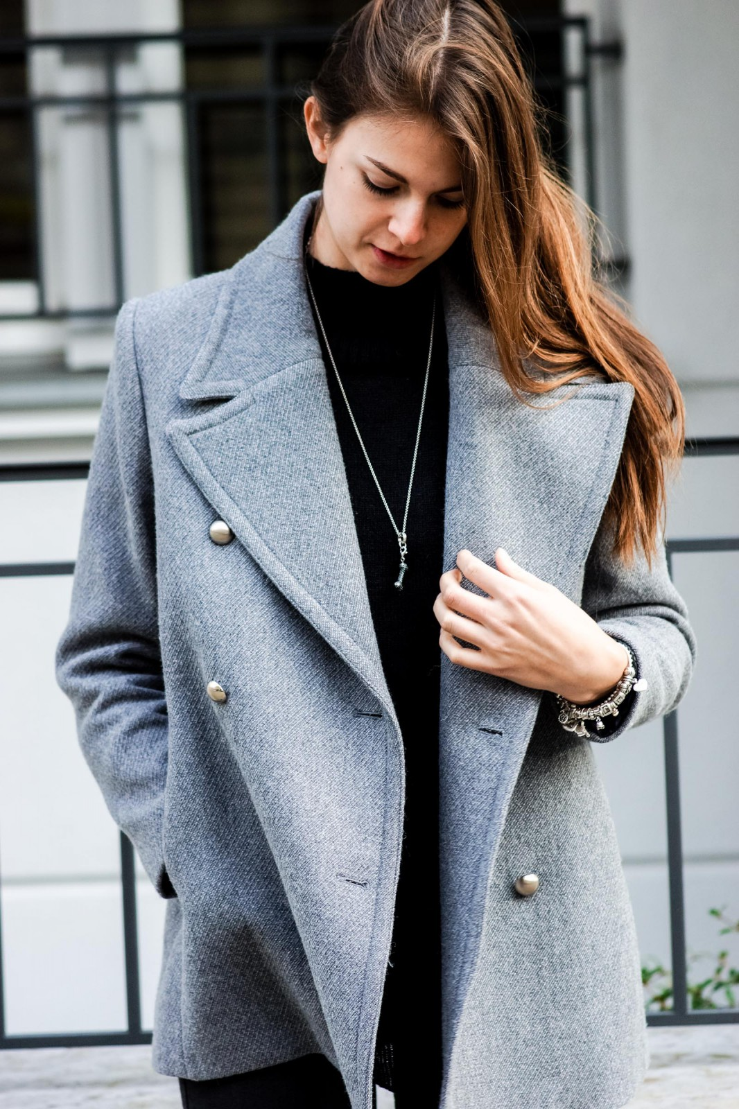 The perfect grey coat