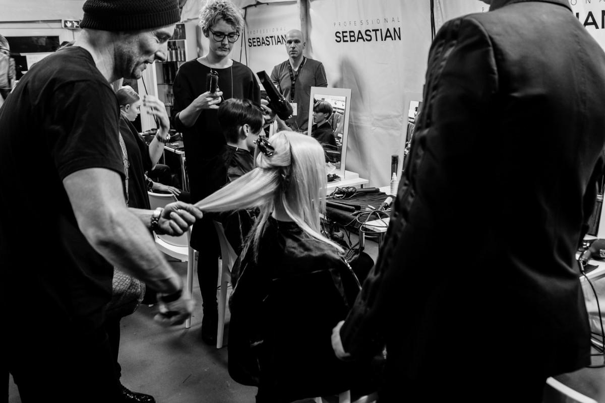 William Fan Backstage