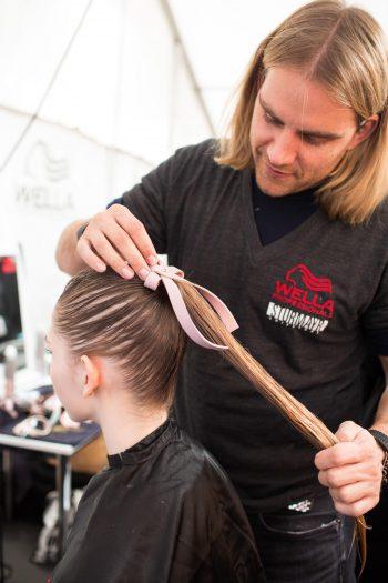 Der Berliner Mode Salon: Hairstyling von Wella Professionals