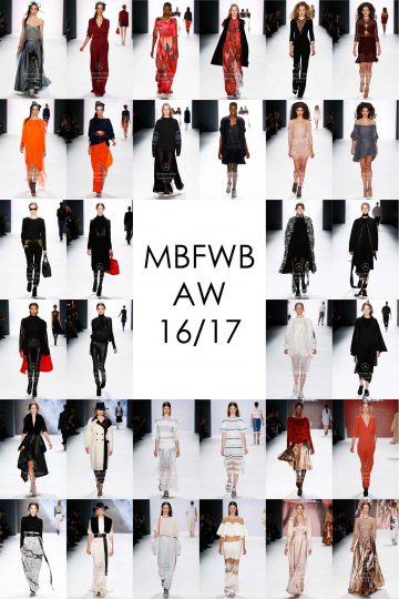 Mercedes-Benz Fashion Week Berlin AW 16/17