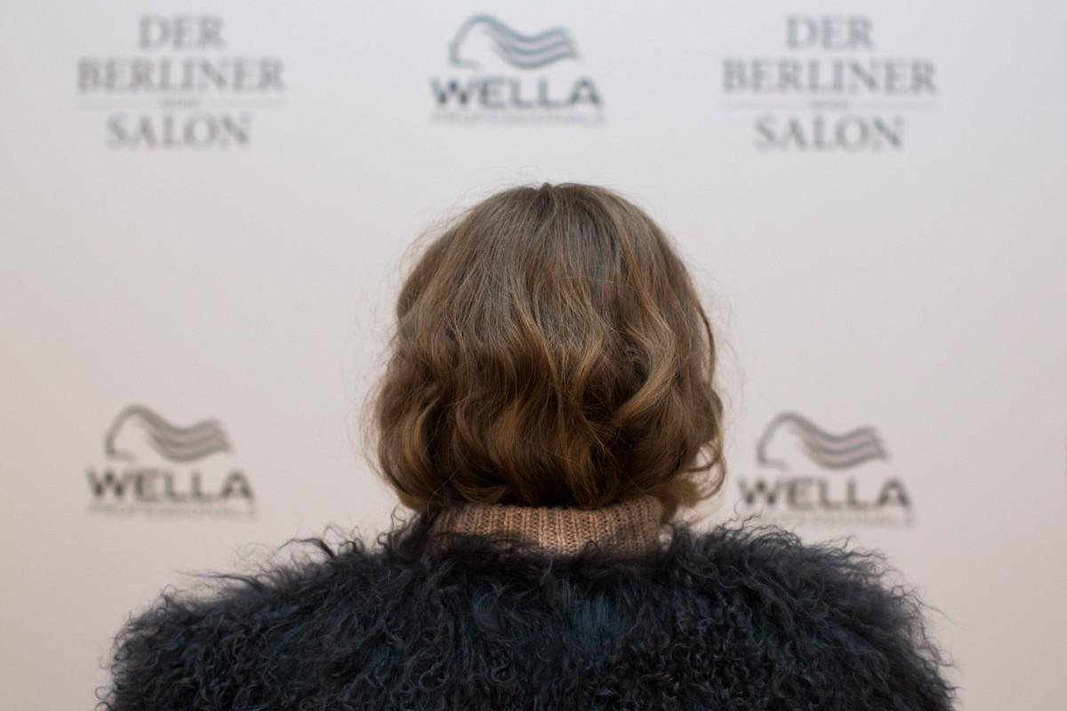 Wella Professionals als Haarpartner beim DER BERLINER MODE SALON