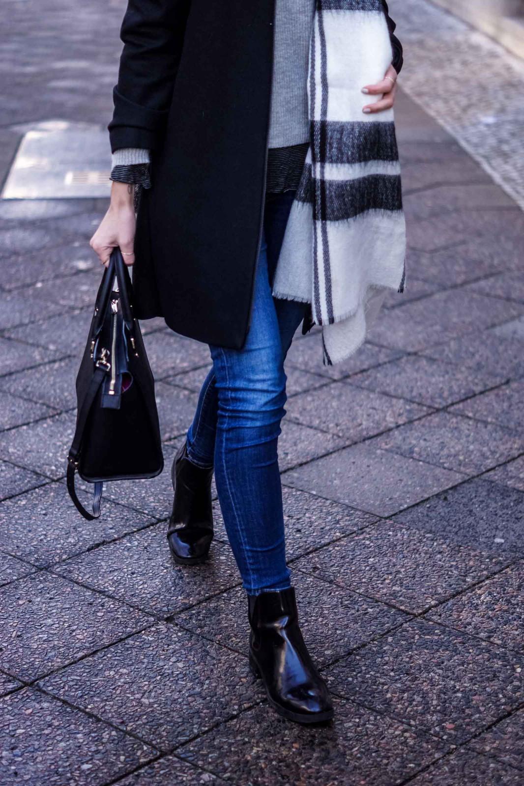 Layering Outfit für den Winter