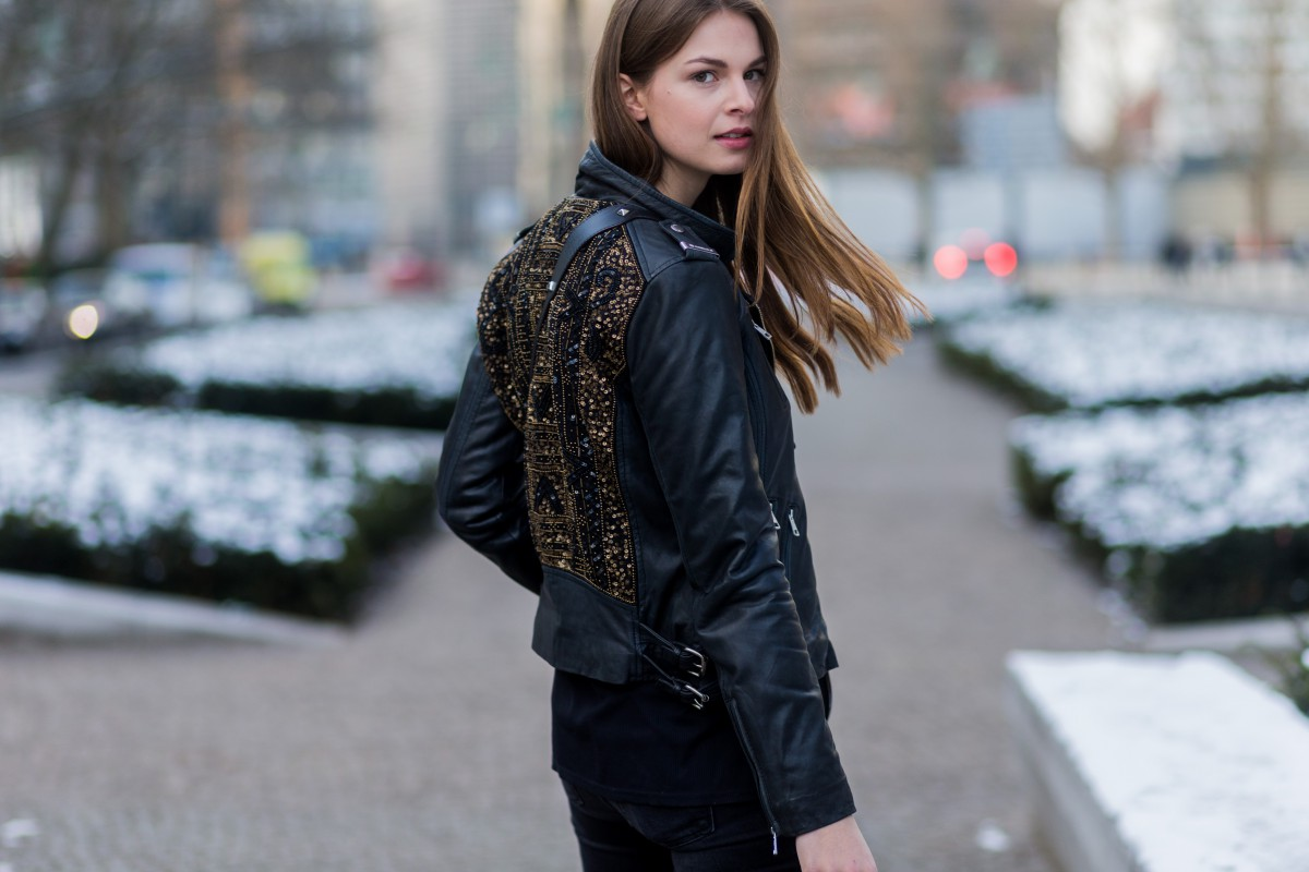 Rich & Royal Leather Jacket