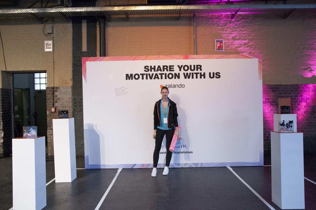 Kayla Itsines Bootcamp sponsored by Zalando