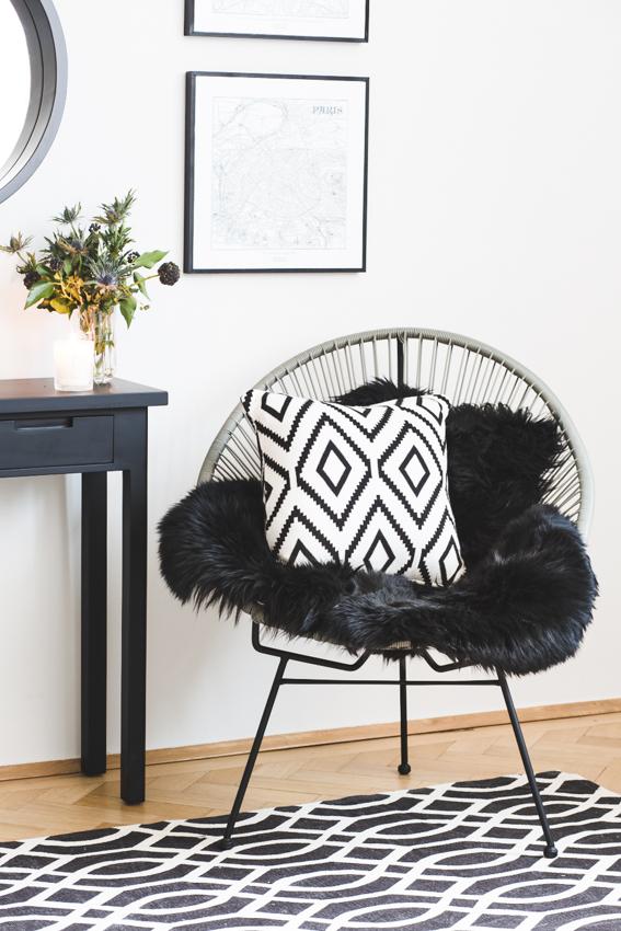Monochrome Möbel
