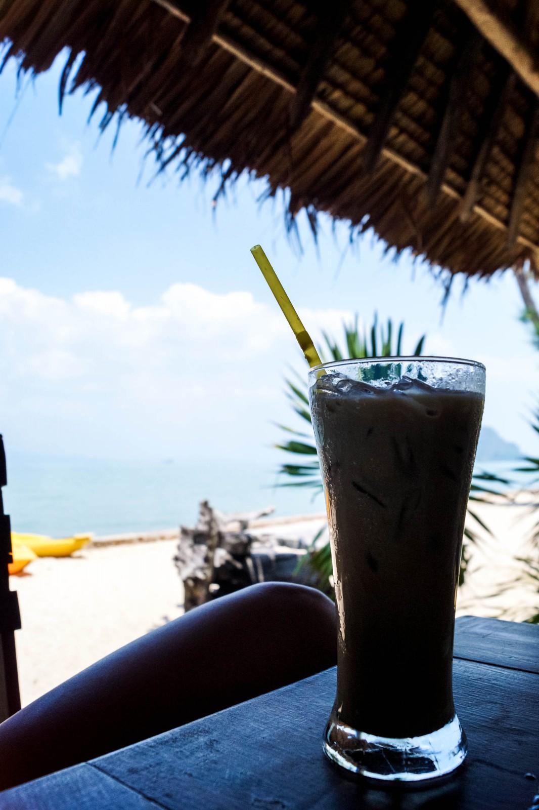 Iced Coffee on Koh Yao Yai