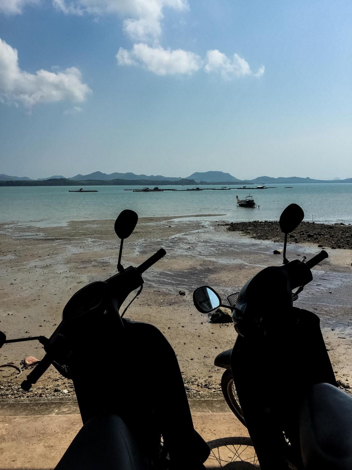Scooter on Koh Yao Yai