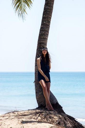 Eine einsame Palme