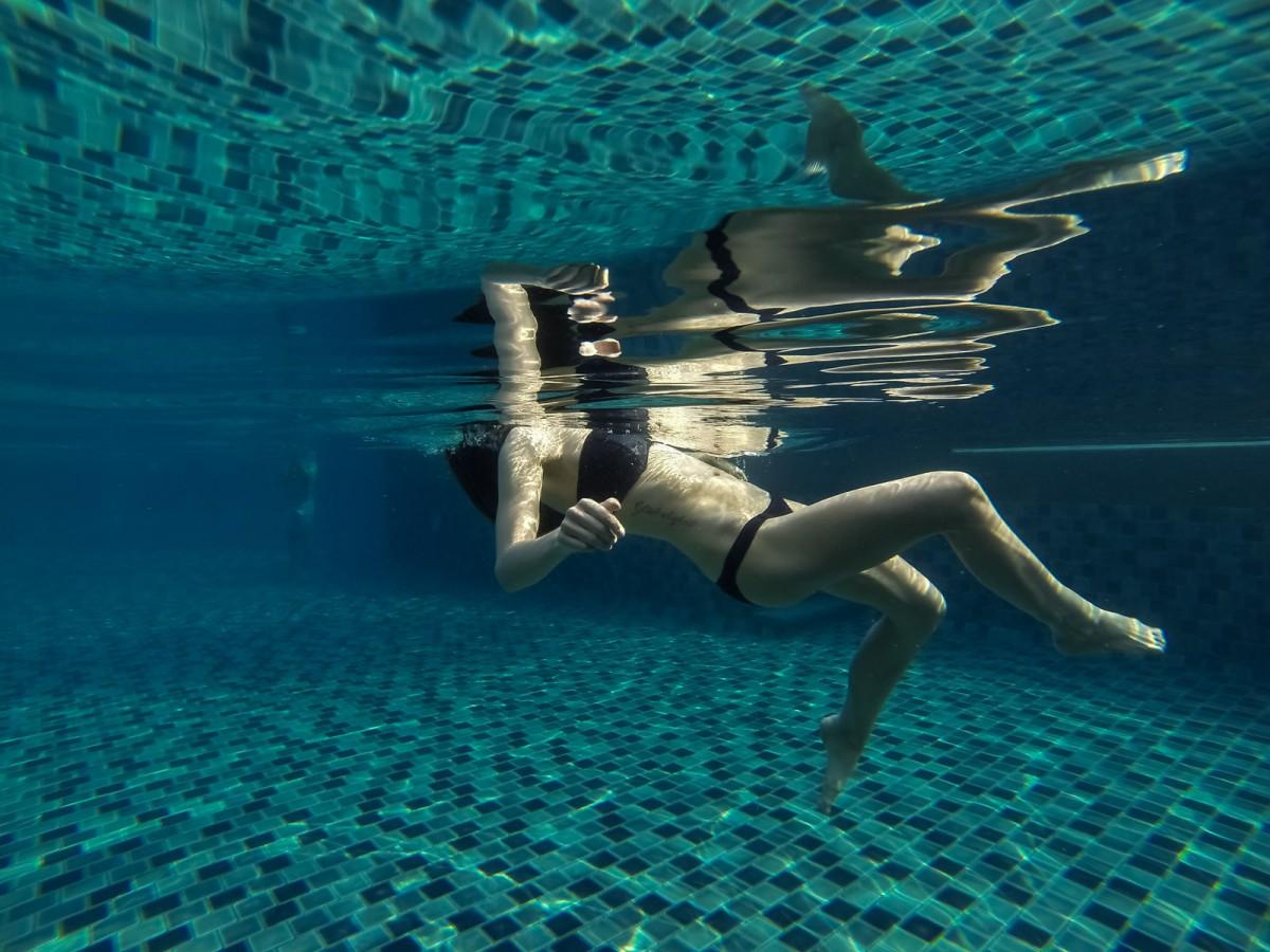 Unter Wasser Photographie