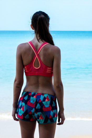 Strand Workout mit Adidas