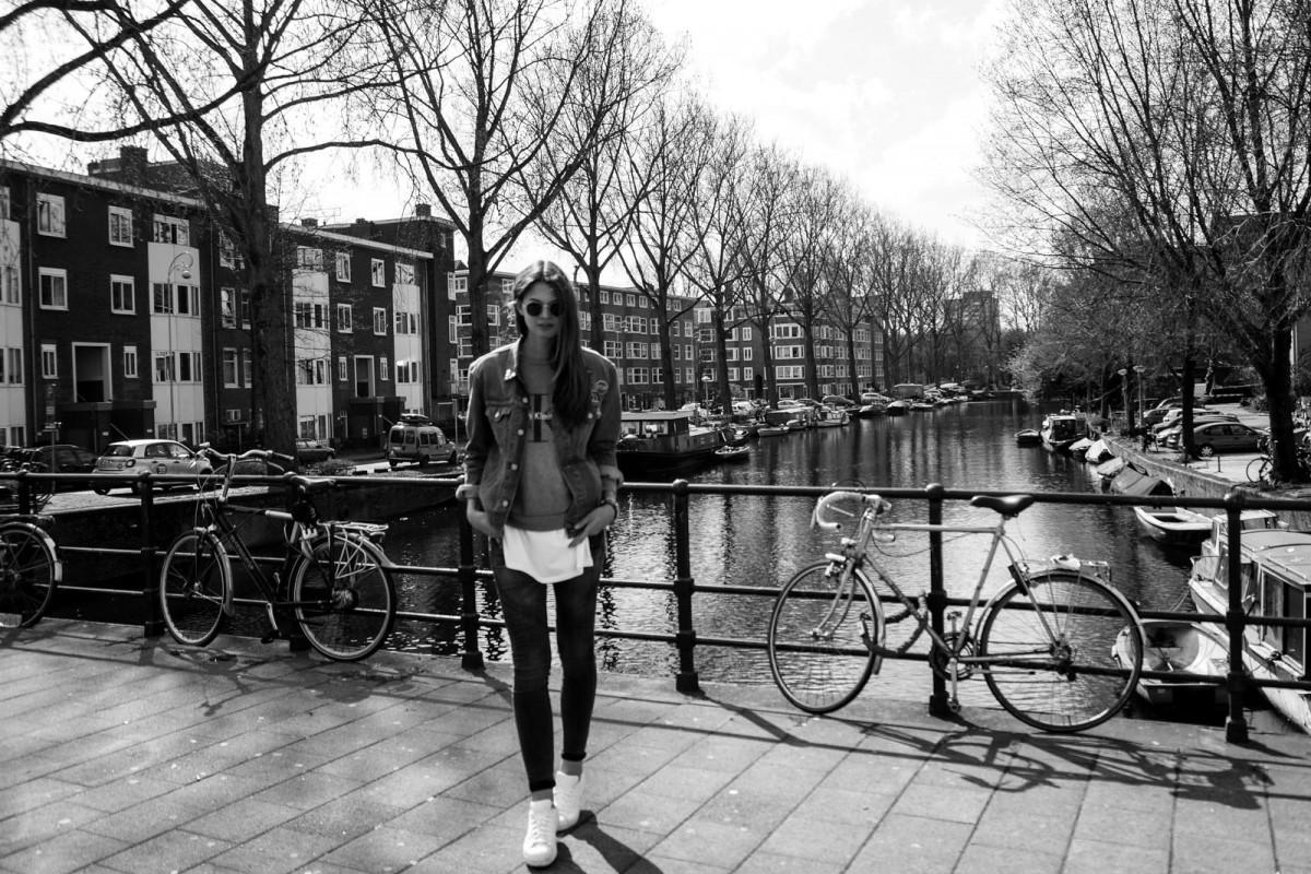 Schwarz-Weiß Fashion Photographie