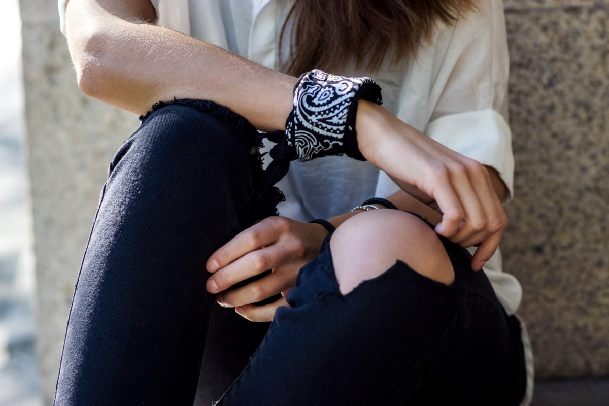 Wie trägt man ein Bandana