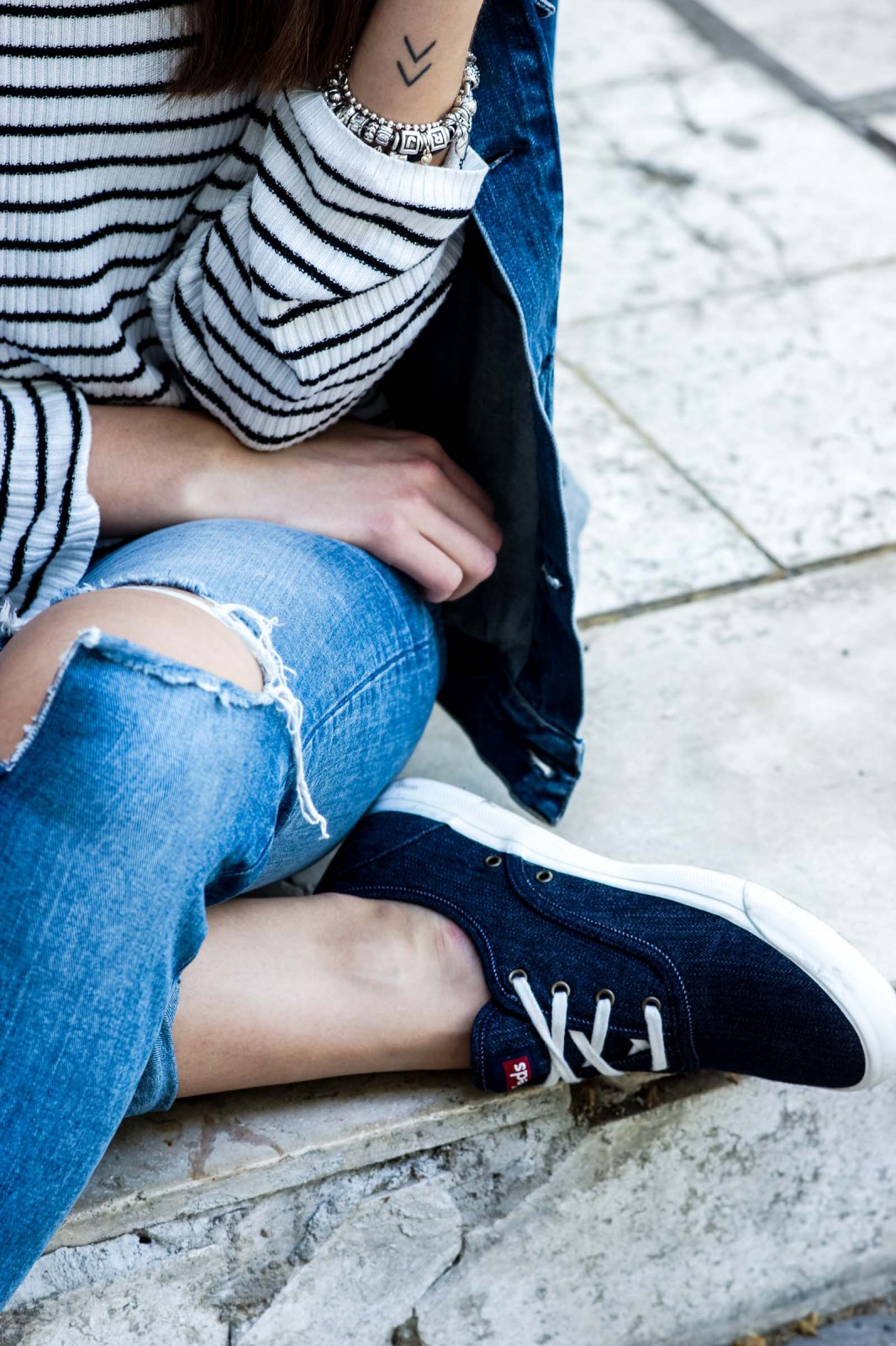 Keds in Denim Optik