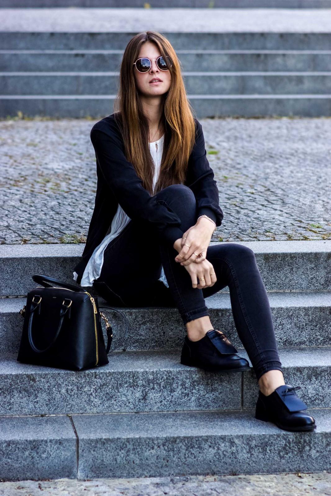 Schwarze Neosens Schuhe