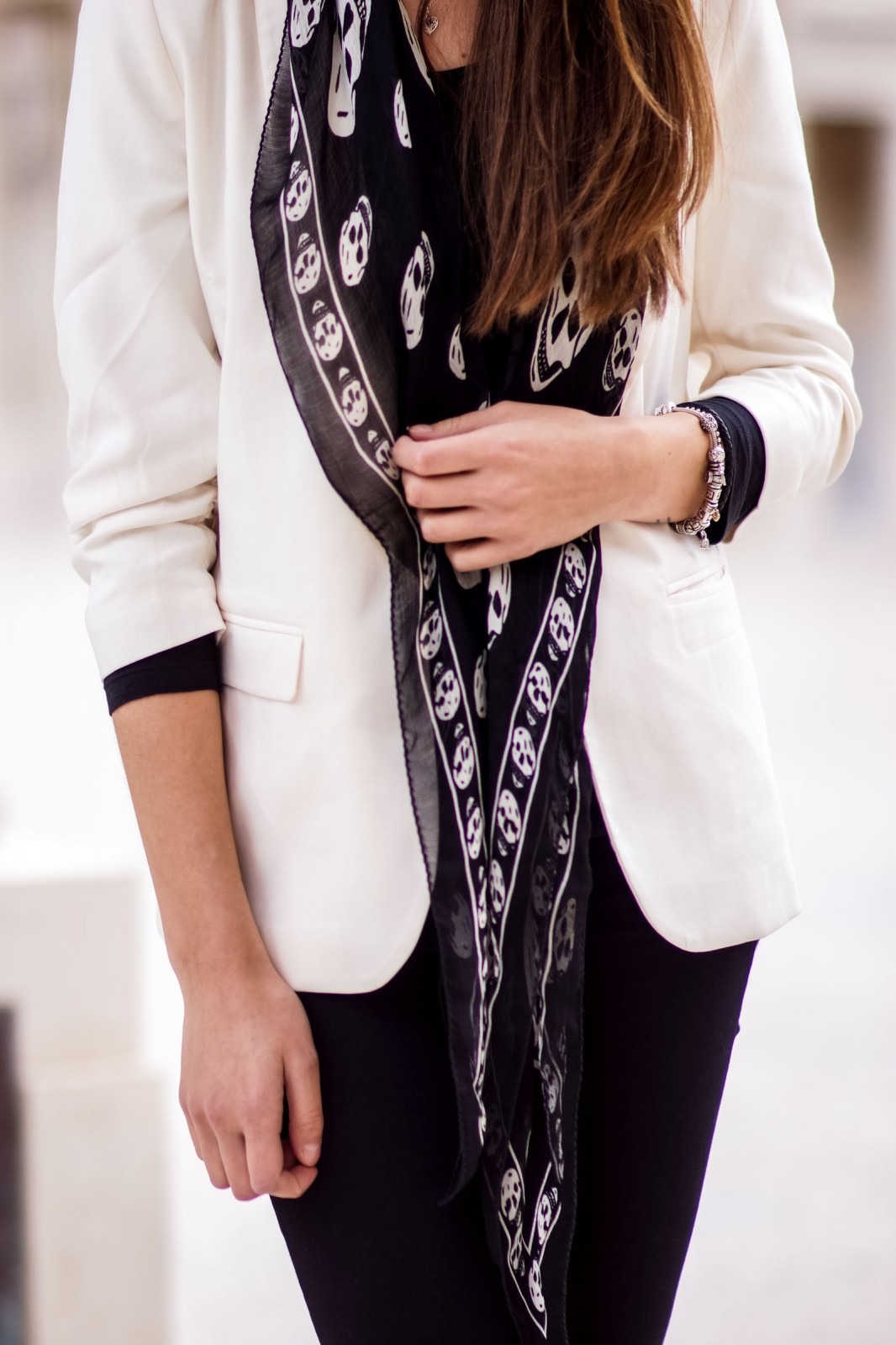 How to wear a white blazer
