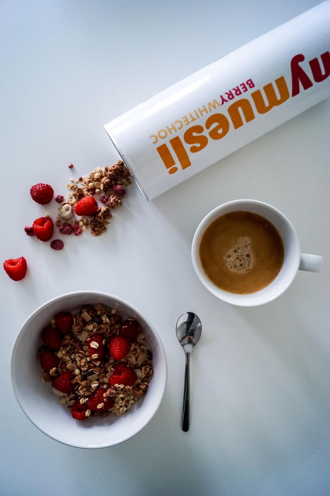 Müsli zum Frühstück