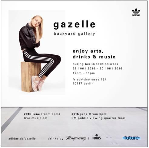 Adidas gazelle Fashion Week Event