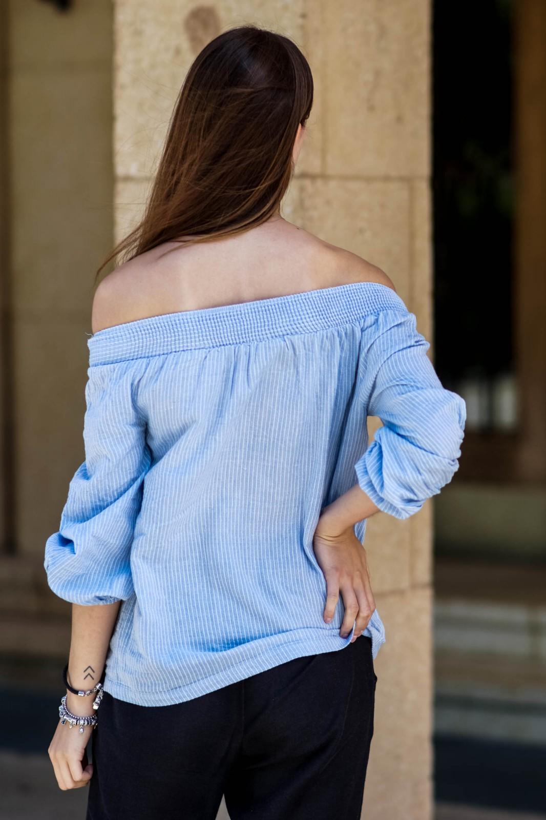 VILA Off Shoulder Shirt
